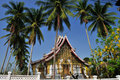 Luang μουσείο prabang Στοκ Φωτογραφία