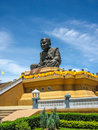 Luang pu thuat wat huai mongkhon the biggest statue of born be ce died be ce at hua hin prachuap khiri khan thailand Royalty Free Stock Image