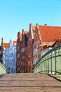 Lubeck old town germany schleswig holstein Stock Images