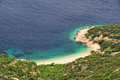 Lubenice beach thr in croatia Royalty Free Stock Image