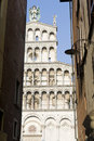 Lucca, church of San Michele in Foro Royalty Free Stock Photography