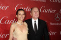 Luciana pedraza robert duvall los angeles jan arrives at the palm springs international film festival awards gala at palm springs Royalty Free Stock Photo