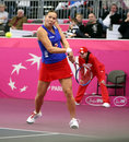 Lucie Hradecka - Fed Cup 2010 Royalty Free Stock Photography