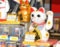 Lucky cat Royalty Free Stock Photos