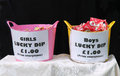 Lucky dip prizes boys and girls christmas Stock Images