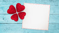 Lucky love wishing banner Royalty Free Stock Photo