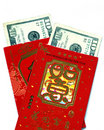 Lucky Money (Red Pockets) Royalty Free Stock Photography