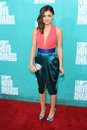 Lucy Hale at the 2012 MTV Movie Awards Arrivals, Gibson Amphitheater, Universal City, CA 06-03-12 Royalty Free Stock Images