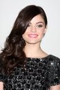 Lucy hale los angeles jan arrives at the disney abc television group s tca winter press tour party at langham huntington hotel on Stock Images