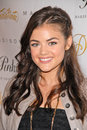 Lucy hale at the madison and diavolina launch party madison diavolina los angeles ca Stock Photos