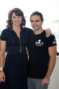 Lucy Lawless,Dustin Clare Stock Images