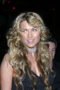 Lucy lawless warner brothers post grammy party pacific design center los angeles ca february Royalty Free Stock Photo