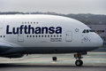 Lufthansa Airbus A380 Royalty Free Stock Images