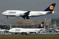 Lufthansa Boeing 747 Royalty Free Stock Image