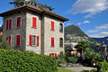 Lugano house Royalty Free Stock Photography