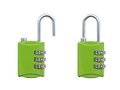Luggage Lock Royalty Free Stock Photos