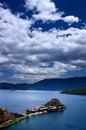 Lugu Lake Royalty Free Stock Photo
