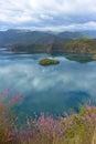 Lugu lake in yunnan china clear Royalty Free Stock Image