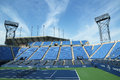 Luis armstrong stadium at the billie jean king national tennis center ready for us open tournament flushing ny august on august in Stock Image