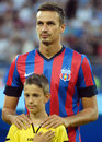 Lukasz szukala of steaua bucharest pictured before the romanian supercup between bucharesta and petrolul ploiesti Stock Image