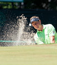 Luke Donald at the 2011 US Open Royalty Free Stock Images