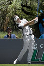 Luke Donald - Teeing Off - NGC2009 Royalty Free Stock Photography