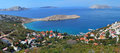 Lukovo bay at the Mediterranean sea, Croatia Royalty Free Stock Photography