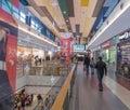 Luksusowy centrum handlowe Obrazy Royalty Free