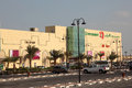 Lulu hypermarket in qatar and mall lusail middle east Stock Photography