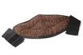 Lumbar warming belt made of natural dog wool Royalty Free Stock Photo