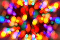 Lumières de Noël-arbre Photographie stock libre de droits
