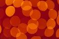 Luminescent circles Royalty Free Stock Photography