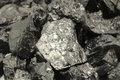 Lumps of coal background Royalty Free Stock Photo