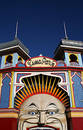 Luna Park Royalty Free Stock Photography