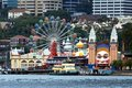 Luna Park Royalty Free Stock Photo