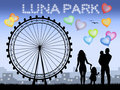 Luna park Royalty Free Stock Photos