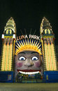 Luna park entrance in sydney australia gate Stock Photos