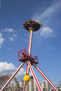 Luna thrill ride in coney island luna park brooklyn new york may on may was destroyed by fire then Stock Photography