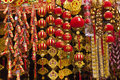 Lunar new year colorfull decoration Stock Images