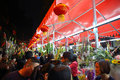 Lunar new year flower fairs the horse in yuexiu district guangzhou of china Royalty Free Stock Photos