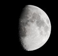 Lunar surface Royalty Free Stock Photo