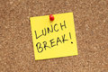 Lunch Break Royalty Free Stock Photo