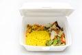 Lunch Styrofoam Box