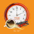 Lunch time concept design Royalty Free Stock Photo