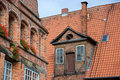 Luneburg lower saxony germany is a medieval city in the heart of the city grow in the medieval a a hanseatic city and became rich Stock Images