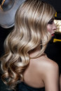 Luscious Blond Curls Royalty Free Stock Images