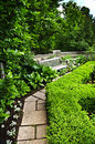 Lush green garden Royalty Free Stock Image