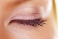 Lush lashes - Beauty aids Royalty Free Stock Images
