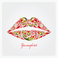 Lush lips.
