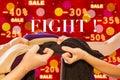 image photo : Sale Fight